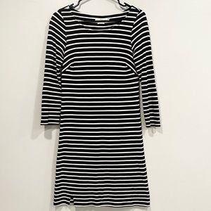 Velvet by Graham & Spencer Striped T Shirt Dress